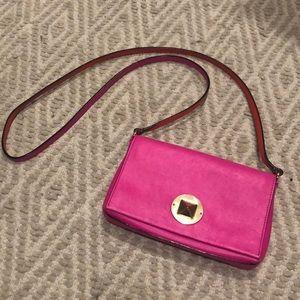Neon pink Kate spade crossbody 💕